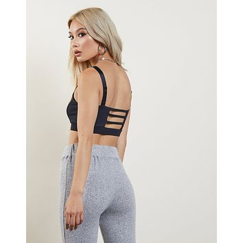 One Jump Ahead Sporty Bralette