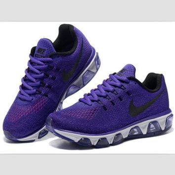 ONETOW NIKE fashion knitted casual shoes sports running shoes Purple