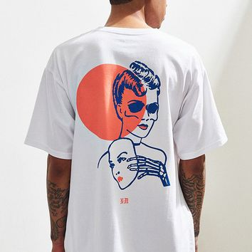 Never Made Two Face Tee | Urban Outfitters
