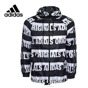 cf1f8a3c43fd Adidas Original New Arrival Official Women s Jacket Outdoor Wind