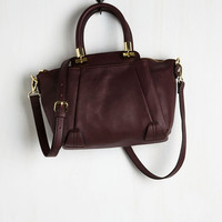 Minimal New York Minute Maven Bag by ModCloth