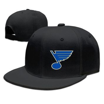St. Louis Blues Funny Unisex Adult Womens Hip-hop Caps Mens Hip-hop Hats