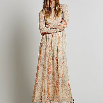 Free People Womens Slip Beyond Maxi Dress