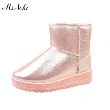 Women Winter Warm Boots With Soft Fur Inner Lining