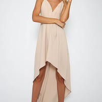 Somebody To Love Dress - Beige
