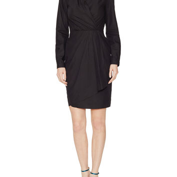 Amica Faux Wrap Dress