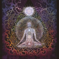 Mike DuBois Meditation Psychedelic Art Poster 24x36