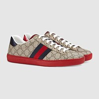 GUCCI Ace GG Supreme low-top sneaker