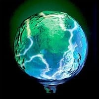 Mini Earth Electra® Blue/green - LumiSource LSE-RTHSM-B
