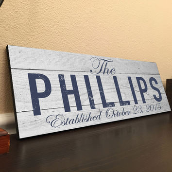 Custom Family Name Sign Pallet Rustic Family Established Sign Custom Pallet Sign Personalized 18x7