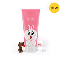 [MISSHA] (Line Friends Edition) Flower Bouquet Cleansing Foam [Cherry Blossom]