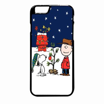 Snoopy And Charlie Christmas iPhone 6 Plus case
