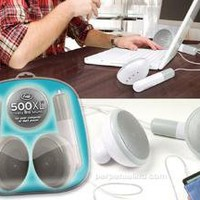 500XL Desktop Earbud Speakers