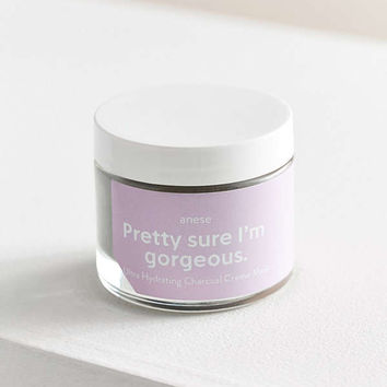 Anese Pretty Sure I'm Gorgeous Ultra-Hydrating Charcoal Creme Mask | Urban Outfitters