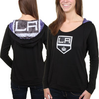 Los Angeles Kings Sublime Long Sleeve Hooded Sweater – Black
