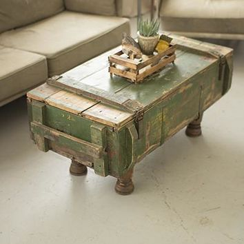 Artillary Box Coffee Table