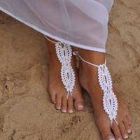 Elegant Stride Barefoot Sandals - Elegant- timeless staple accessories perfect for the summer.
