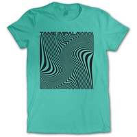 Tame Impala  Wave Square Junior Top Mint