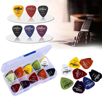VONC1Y 50pcs guitar picks 1 box case Alice acoustic electric guitar accessories musical instrument thickness 0.58-1.5 New Design Y14