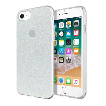 INCIPIO IRIDESCENT WHITE GLITTER DESIGN SERIES CASE FOR APPLE IPHONE 6/7/8