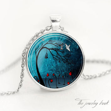 Tree of life pendant fantasy Tree of life pendant Tree of life necklace Tree of life jewelry nature pendant Woodland jewelry