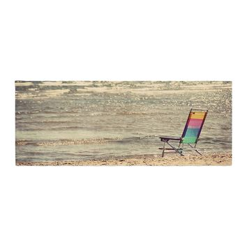 "Angie Turner ""Beach Chair"" Sandy Beach Bed Runner - Outlet Item"