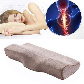 Sleep Memory Foam Pillow Bed Orthopedic Pillows for Neck Pain Ergonomic Pillow and Back Sleepers Side Sleepers & Stomach Sleeper