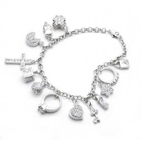 Bling Jewelry Charming Bracelet