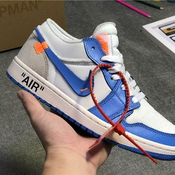 The 10 Off White X Air Jordan 1 Low Powder Blue