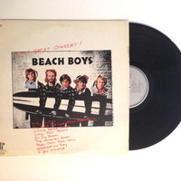 Vinyl Record The Beach Boys Wow Great Concert LP Album Surf Music I Get Around The Monster Mash