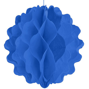 Blue - Baby Shower Honeycomb Ball Decorations