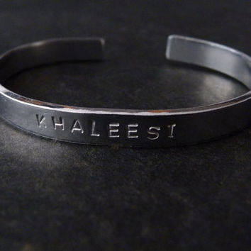 Khaleesi Bracelet - Game of Thrones, Not A Queen A Khaleesi, Daenerys Targaryen