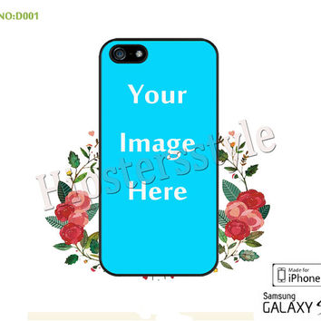 iPhone 5/5C/5S case, iPhone 4/4S Case, Galaxy S3 S4 S5 Note 2 Note 3 Case put your image, special listing for custom order N0:D001