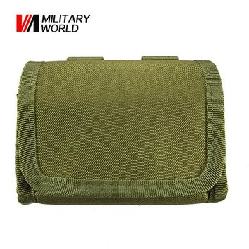 Military World Tactical Rifle Holder Ammo Carrier Bullet Bag Shells Paintball Molle Magazine Pouch Hunting Gun Bags Accessories