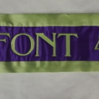 ***National Quality Sash*** NEW!!!