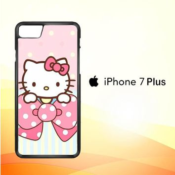 Hello Kitty Wallpaper L1940 iPhone 7 Plus Case