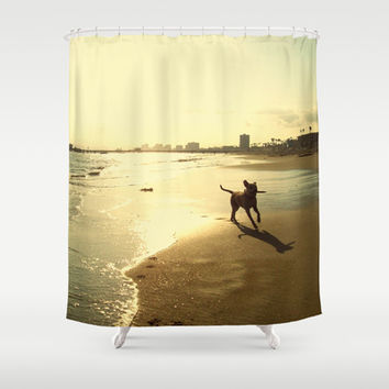 When she is the happiest Shower Curtain by RichCaspian