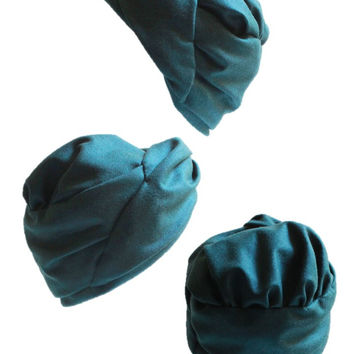 Women's Turban in Cashmere and Wool by East Village Hats