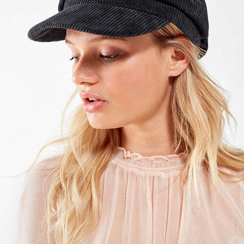 Corduroy Cabbie Hat | Urban Outfitters
