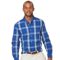 Chaps Plaid Button-Down Shirt