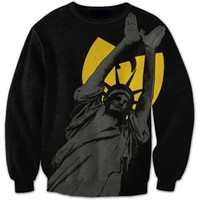 Statue of Liberty Wu Tang Clan Black Sweatshirt