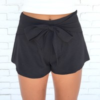 Classic Charm Shorts In Black