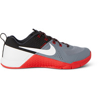 Nike Training - Metcon 1 Perforated Rubber and Faux Suede Sneakers | MR PORTER