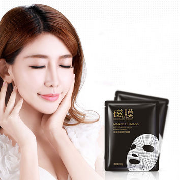 2017 Face Care Moisturizing BIO Magnet Therapy Face Masks No Clean Facial Masks Skin Nourishing Brighten well