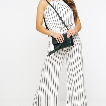 Salma Jumpsuit - Black/White
