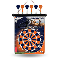 Denver Broncos NFL Magnetic Dart Board