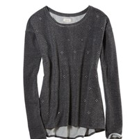 Aerie Embellished Crew Neck Sweatshirt | Aerie for American Eagle