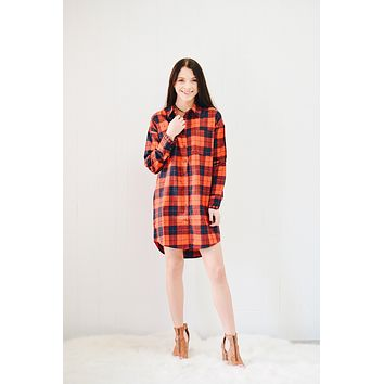Callahan Plaid Dress