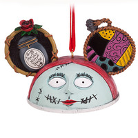 disney the nightmare before christmas sally ear hat ornament new with tag
