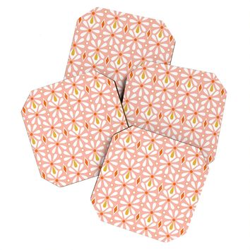 Heather Dutton Fleurette Radiant Coaster Set